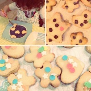 Biscotti mamma-figlia