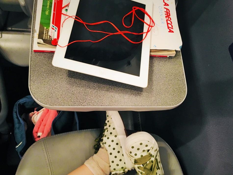 Diario di Viaggio. viaggiare in treno con i bimbi