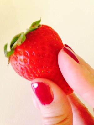 La Donna Riccia. Frutta e verdura fanno bene al buon umore.